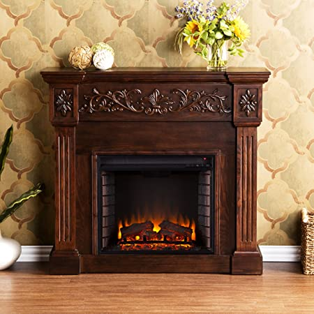ivory-electric-fireplace