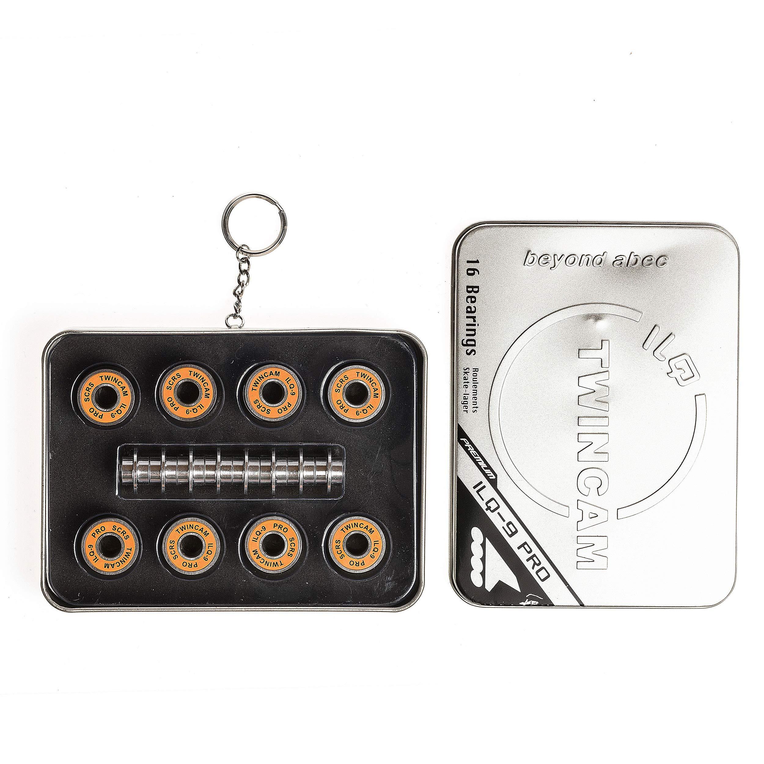 Rollerblade Inline Skates ILQ-9 Pro Bearings, Silver, 16 Pack