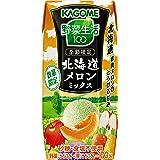 カゴメ 野菜生活100 北海道メロンミックス 195ml×24本