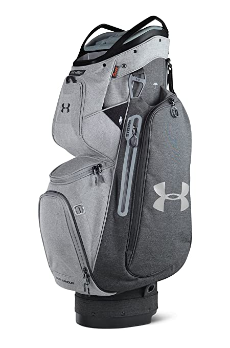 938597549d Amazon.com   Under Armour Storm Armada Sunbrella Cart Golf Bag  (Meridian Slate)   Sports   Outdoors