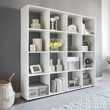 Bücherregal Weiß Modern