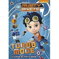 Rusty Rivets: Turbo Mode: Sticker Activity Book
