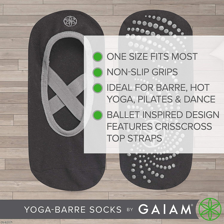 One Size Fits Most Pilates Yoga Dance Non Slip Sticky Toe Grip Accessories for Women /& Men Pure Barre Gaiam Yoga Barre Socks Skyline