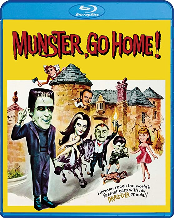 The Best Munster Go Home Bluray