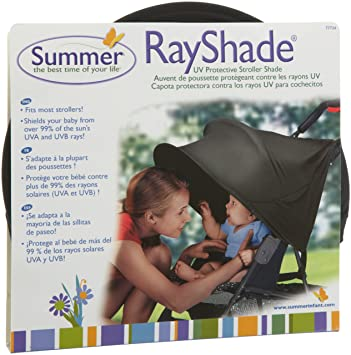 RayShade UV Protective Stroller Shade Improves Sun Protection for Strollers Joggers and Prams Black ( & Amazon.com: RayShade UV Protective Stroller Shade Improves Sun ...
