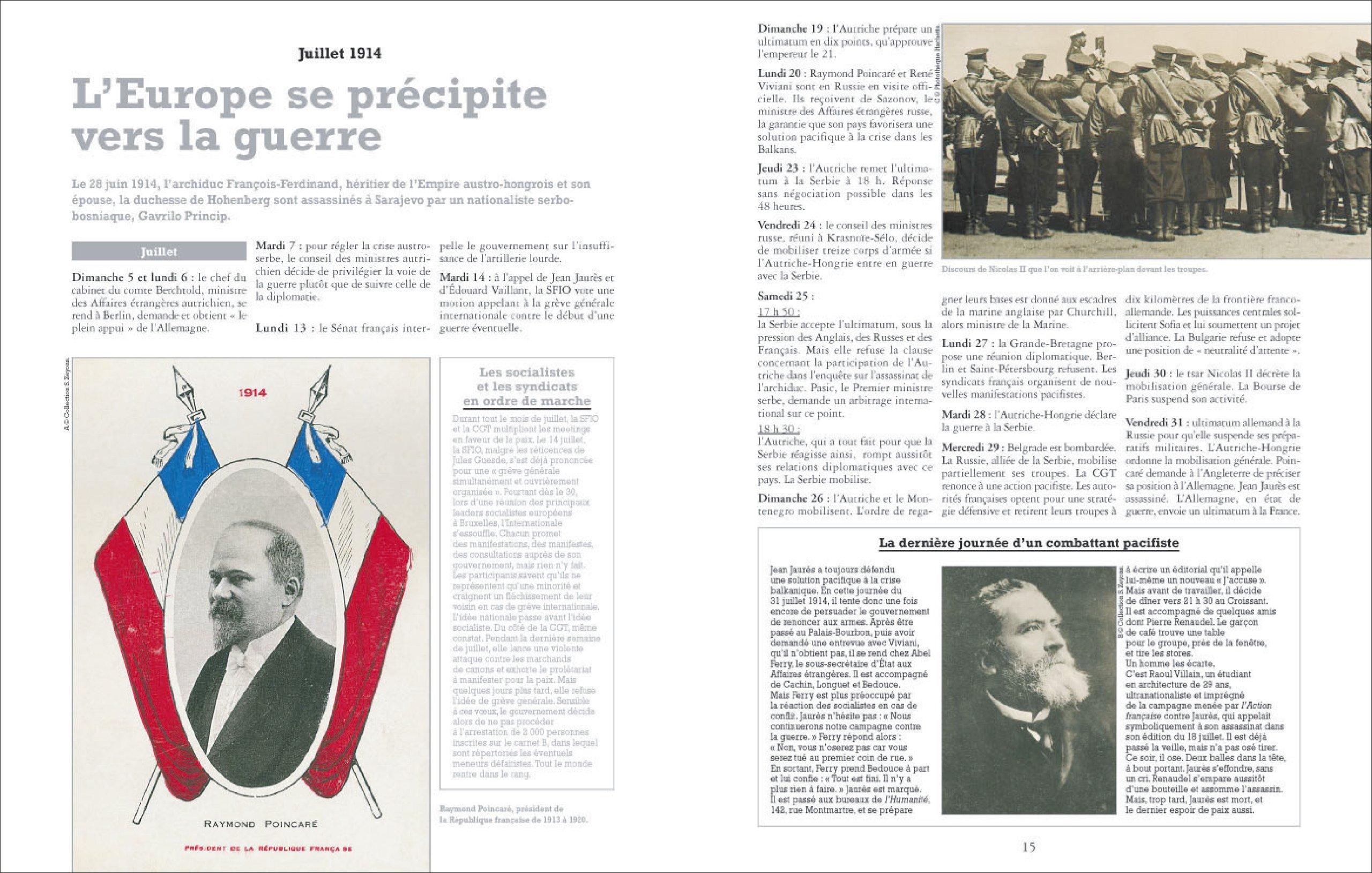 Amazon.fr - L'Encyclopédie de la Grande Guerre 1914-1918 - Collectif -  Livres