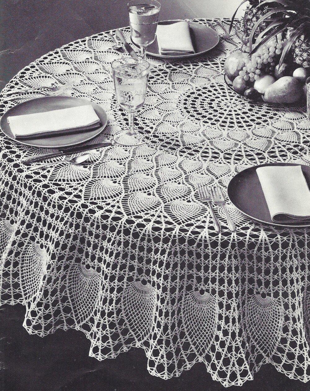 Amazon Vintage Crochet Pattern To Make Pineapple Petals