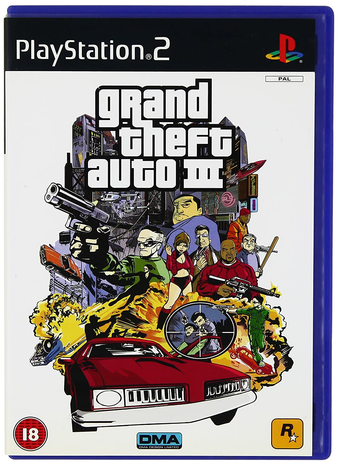 Buy Grand Theft Auto III (PS2) Online at Low Prices in India