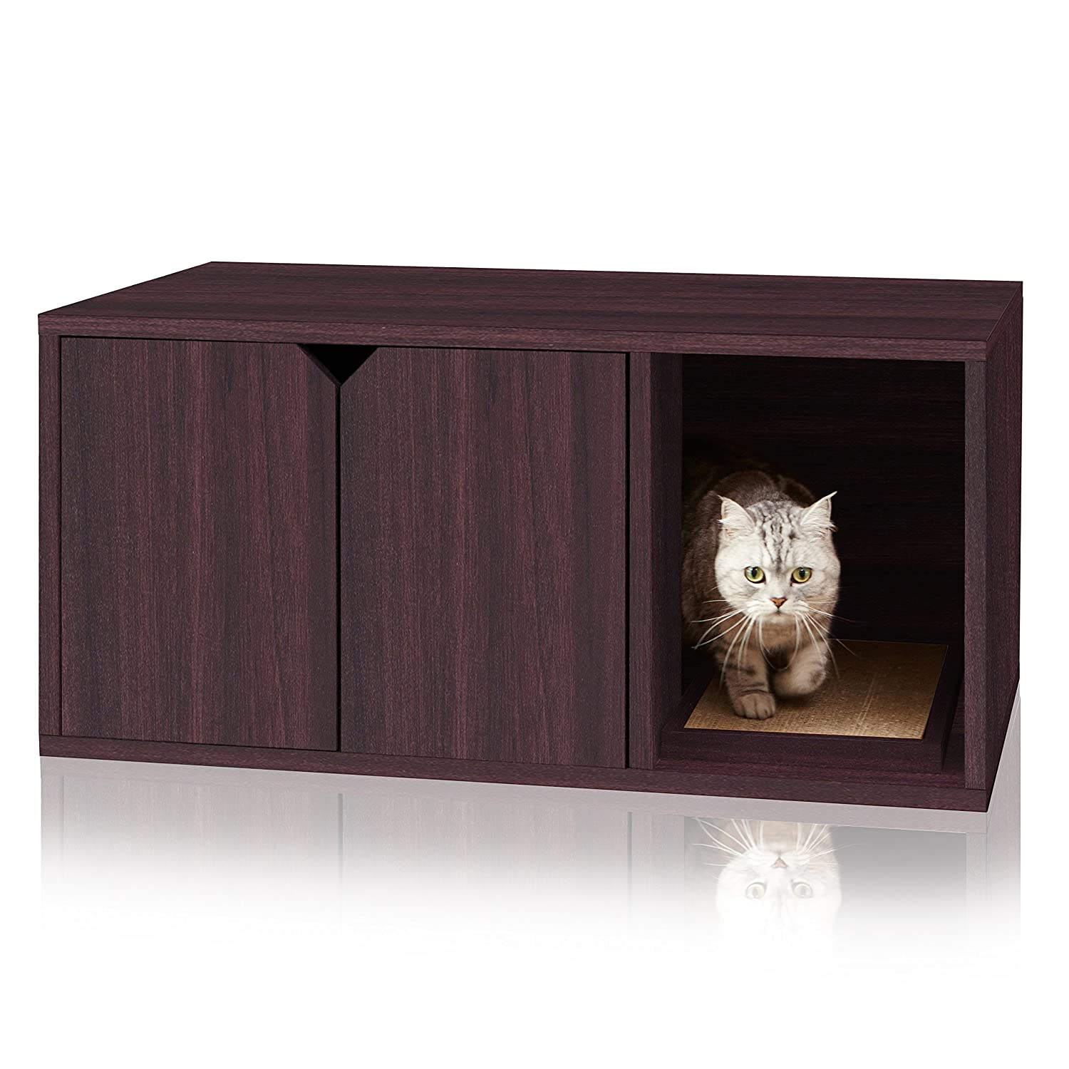 Buy Way Basics Eco Friendly Modern Cat Litter Box Furniture Made