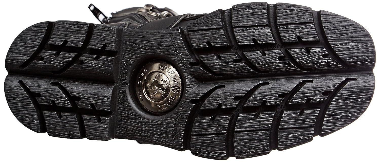 New Rock Unisex-Erwachsene M-1473-v1 Biker 001) Boots, schwarz Schwarz (Black 001) Biker b8fd76