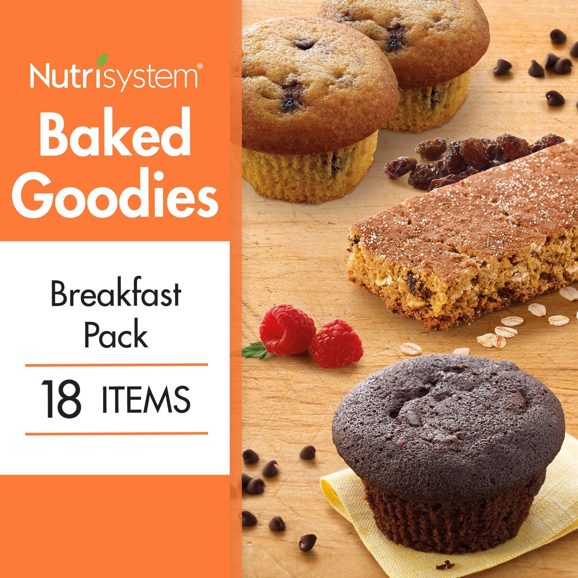 Nutrisystem® Baked Goodies Breakfast Bundle 18CT by Nutrisystem