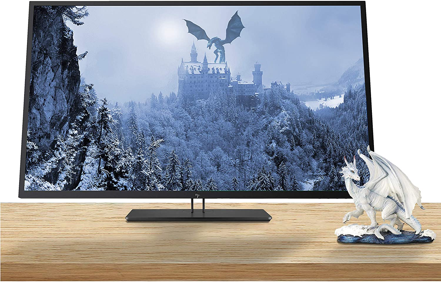 HP Z43 42.5 Inch 4K UHD 3840 x 2160 LED Backlit Gaming Monitor with IPS, Vesa Compatible, Anti-Glare, Tilt and Swivel, Black Pearl (USB-C, HDMI and DisplayPort)