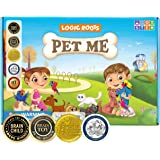 Logic Roots Pet Me Multiplication and Division Game - Fun Math Board Game for 5 - 9 Year Olds, Easy Start STEM Toy, Perfect E