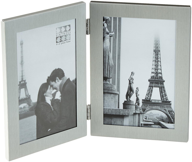Amazon.de: Sixtrees 2406-46dv Dylan Doppel-Bilderrahmen hochkant mit ...