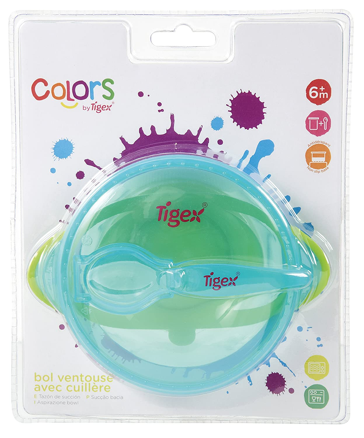 Tigex Colors – Suction Bowl Tigex Colors - Suction Bowl 80890148