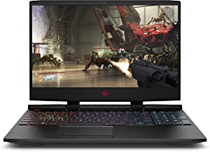Omen by HP 2019 15-Inch Gaming Laptop, Intel i7-8750H Processor, NVIDIA RTX 2060 6 GB, 16 GB RAM, 128 GB SSD, 1 TB HDD, VR Ready, Windows 10 Home (15-dc1030nr, Black)