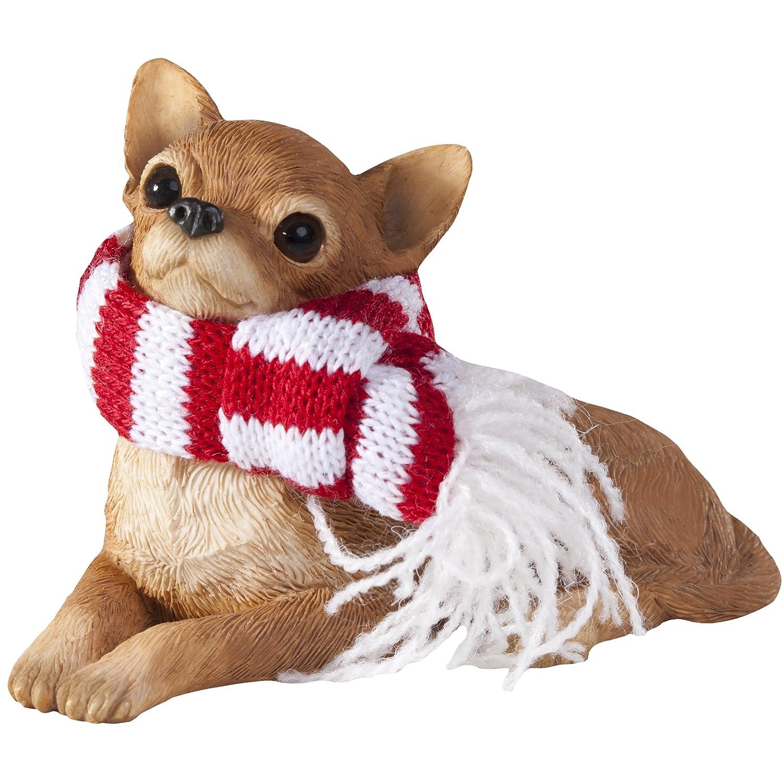 Amazon.com: Chihuahua Tan Christmas Holiday Ornament: Home & Kitchen