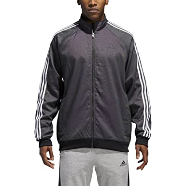 fc87288d3b260 adidas Mens Essentials 3-Stripe Woven Track Top