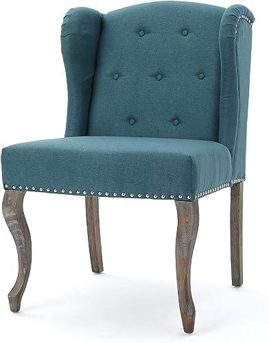 Kylie Dark Teal Fabric Chair