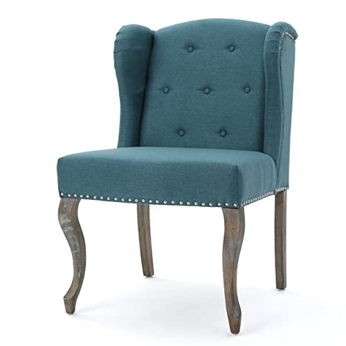 Christopher Knight Home Kylie Fabric Chair, Twin, Color Dark Teal