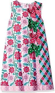 4a43c0f2f5d6 Bonnie Jean Girls  Short Sleeve Cotton Printed Float Dress