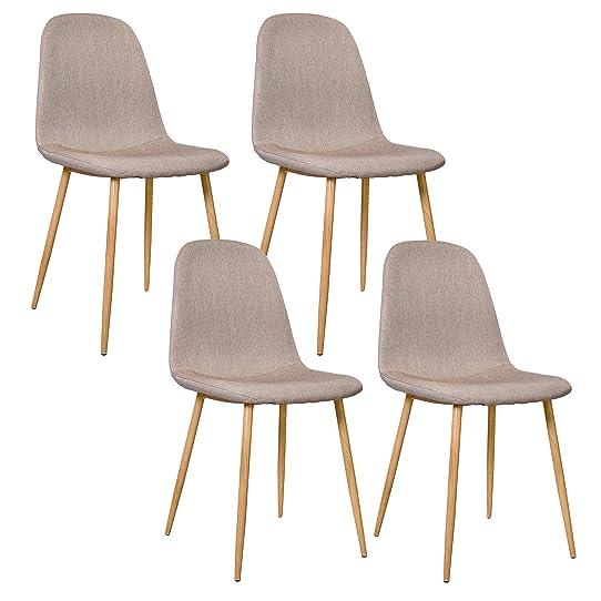 amazon housse de chaise fabulous x auralum caf clair housses pour chaises bilastique couverture. Black Bedroom Furniture Sets. Home Design Ideas