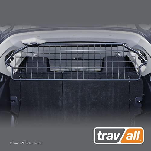 Travall Guard Compatible with Nissan Rogue 2007-2014 Rogue Select 2013-2015 TDG1447 – Rattle-Free Steel Vehicle Specific Pet Barrier