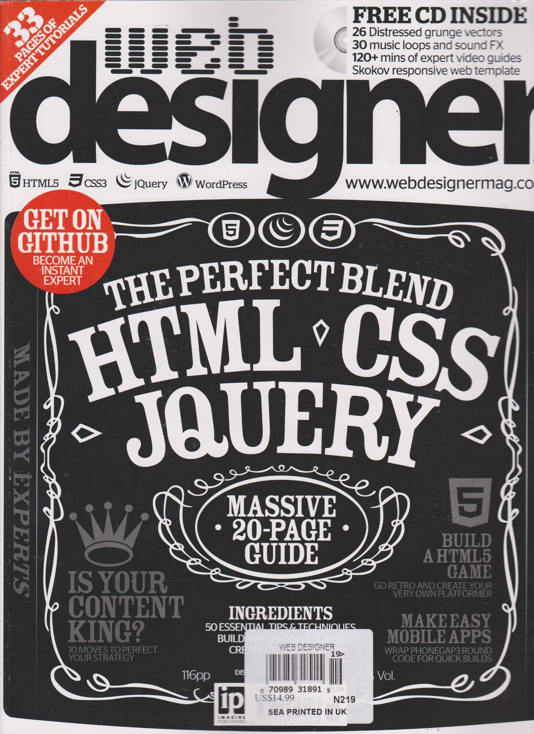 Web Designer Magazine Number 219 Amazon Com Books
