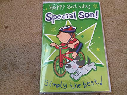 Image Unavailable Not Available For Color Happy Birthday Special Son