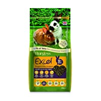Excel Burgess Nuggets with Oregano Adult Rabbit Food 2kg (pack of 2)