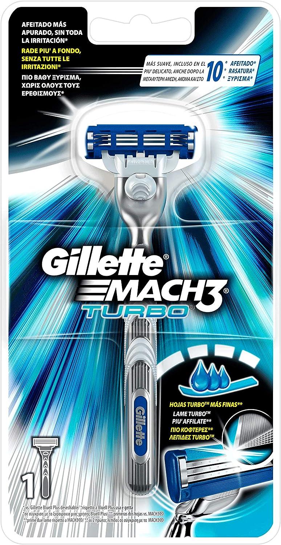 Gillette Mach3 Turbo Maquinilla de Afeitar