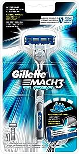 Gillette Mach3Turbo Razor for Men