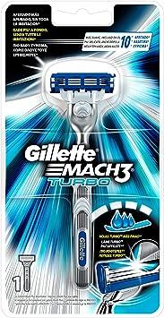 Gillette Mach3 Turbo Maquinilla de Afeitar: Amazon.es: Salud y ...