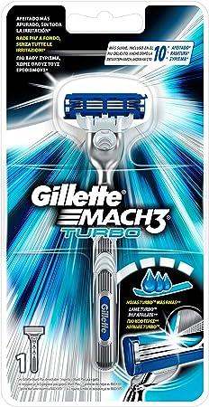 Gillette Mach3 Turbo Maquinilla de Afeitar: Amazon.es: Salud y cuidado personal