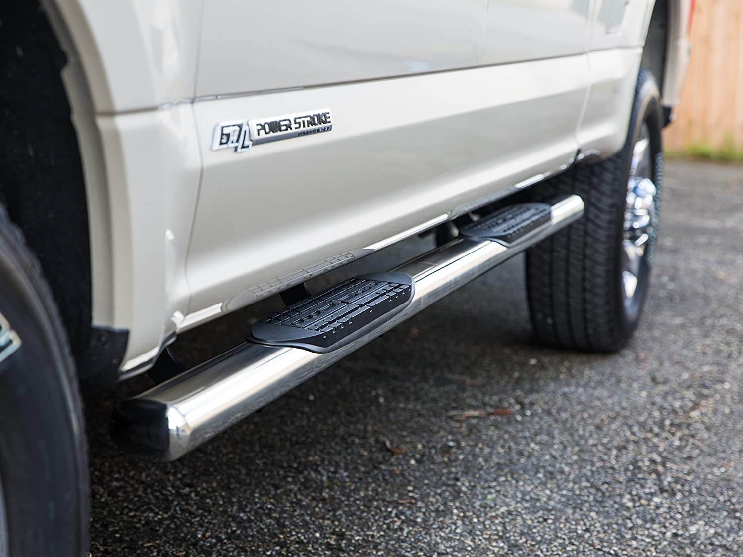 2009-2018 Dodge Ram Quad Cab 1500 Only Nerf Bars Truck Side Steps Ionic Pro Series 3 Stainless 3320200 fits