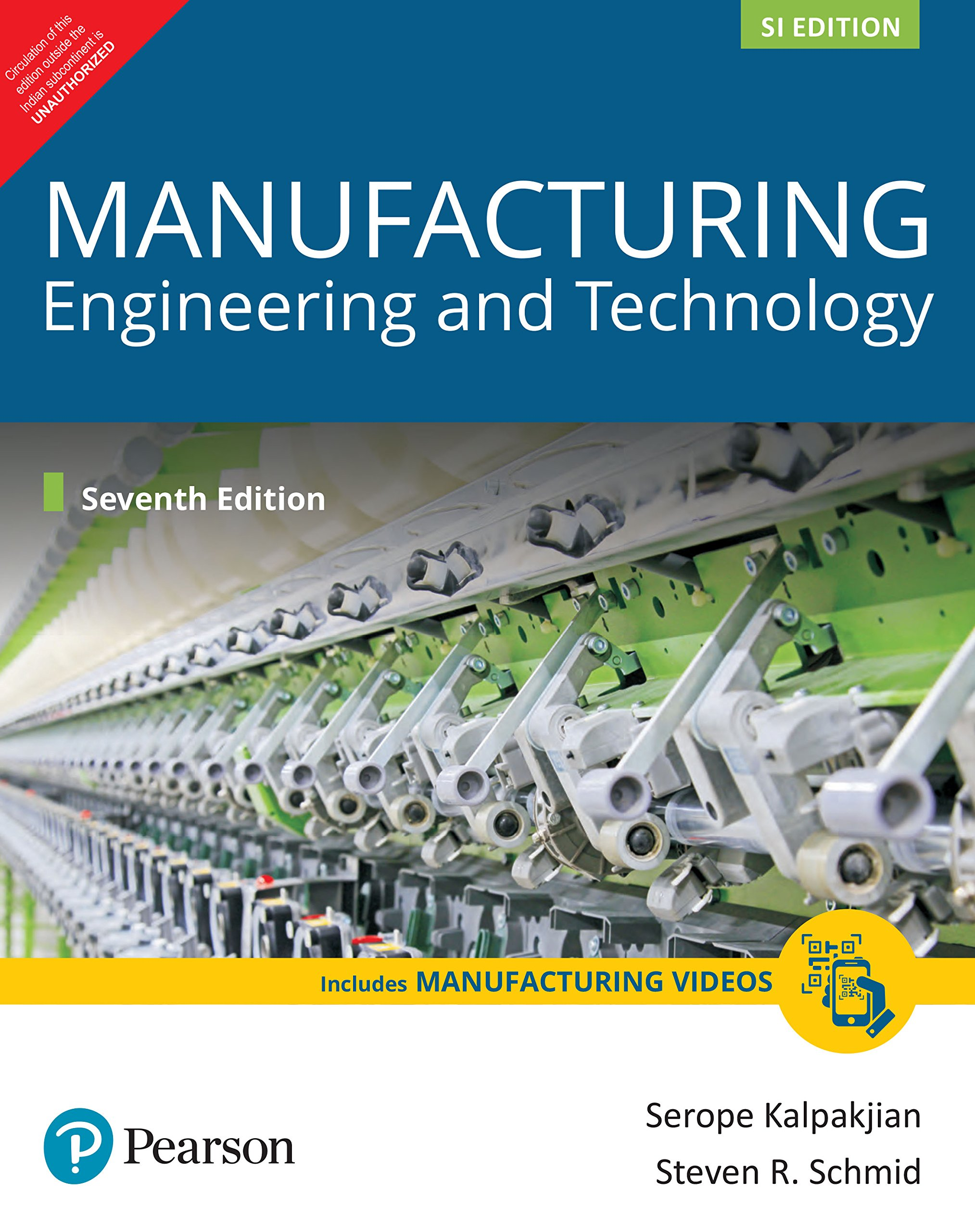 Manufacturing Engineering and Technology (SI Edition