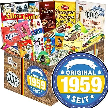 Original Seit 1959 Ddr Schokolade Box Geschenke 60 Geburtstag