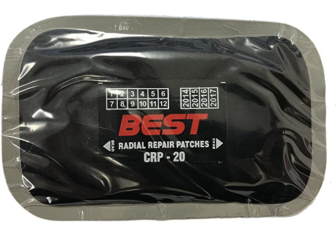 Bestpatch UR0 1-1//2 Round Universal Tire and Tube Repair Patches 100 pc Box