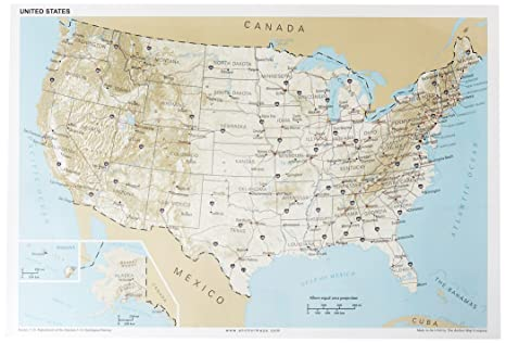 Map Of Usa At Night.Amazon Com Night And Day Usa Poster Bundle 13x19 Anchor Maps