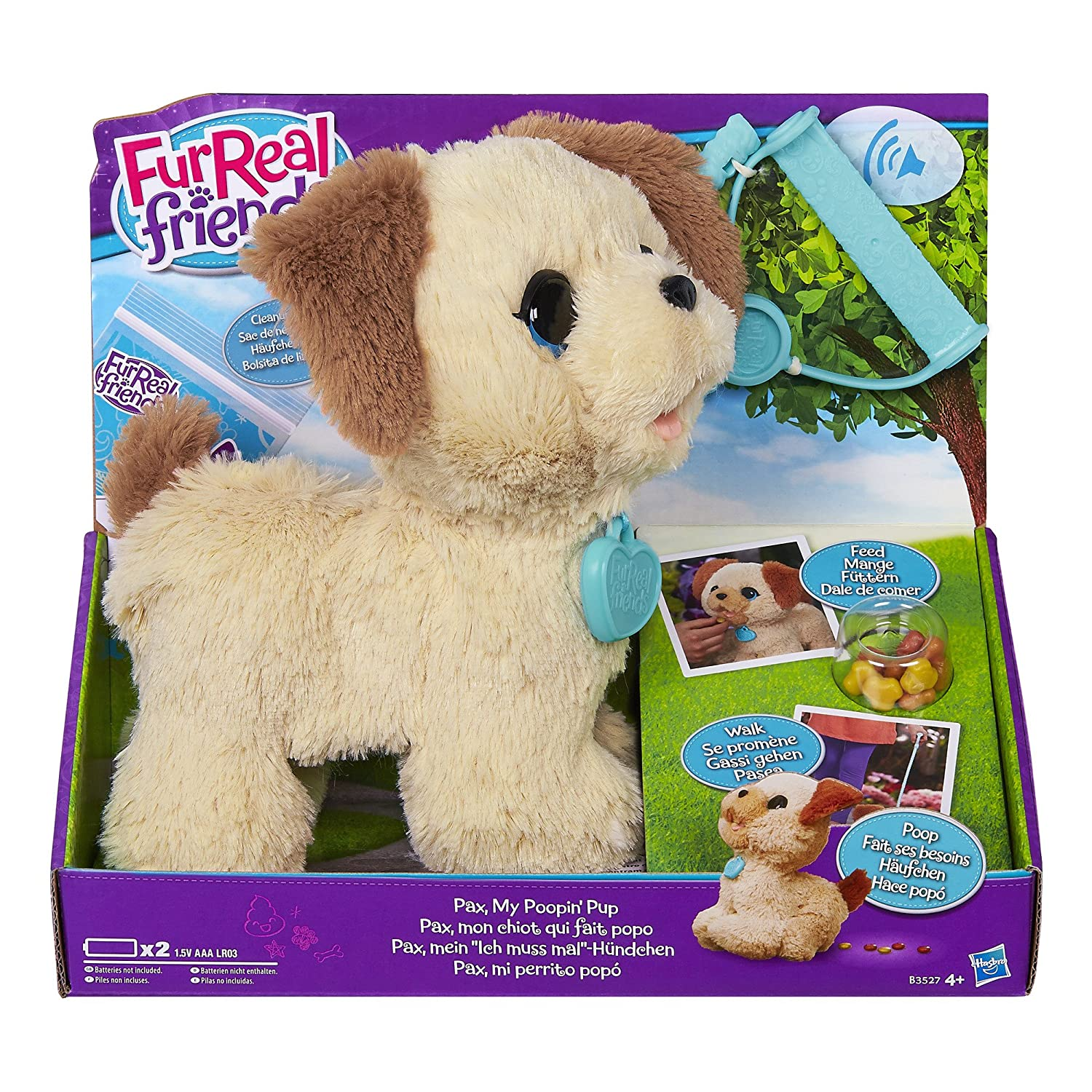 Fur Real Friends - PAX Peluche Hasbro European Trading B.V B3527EU4