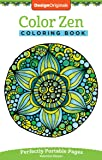 Color Zen Coloring Book: Perfectly Portable Pages (On-the-Go Coloring Book) (Design Originals) Extra-Thick High-Quality…