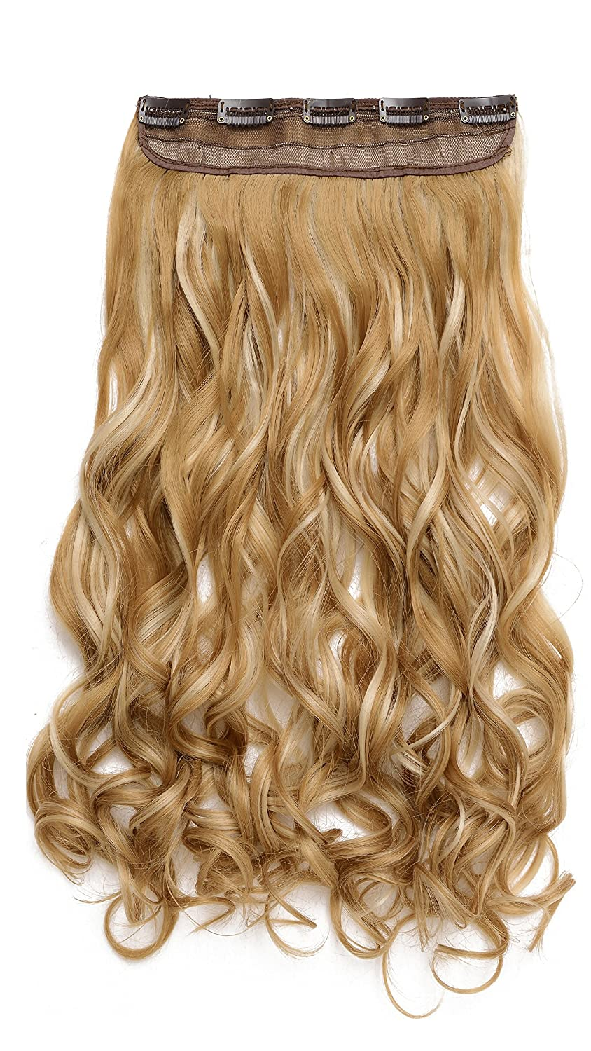 Amazon Onedor 20 Curly 34 Full Head Synthetic Hair Extensions