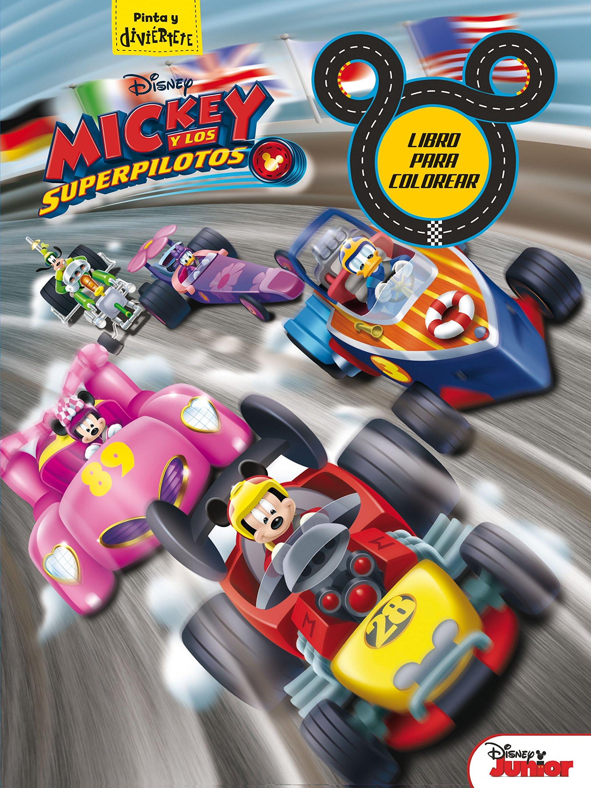 Mickey y los Superpilotos. Libro para colorear Disney. Mickey: Amazon.es: Disney: Libros