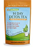 Hint Wellness 14 Day Detox Tea - For Weight Loss, Digestion, and Bloating – Natural Ingredients Blended in USA, 43g Loose Leaf Tea