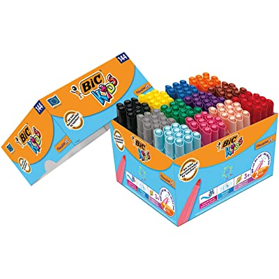 style populaire où puis je acheter vaste sélection pas cher BIC Kids feutres de coloriage Visacolor XL 144 ...