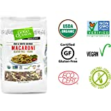 GoGo Quinoa Organic Premium Quality Vegan Red and White Macaroni Pasta, Non-GMO Project Verified & Kosher Certified 2.2 Lbs