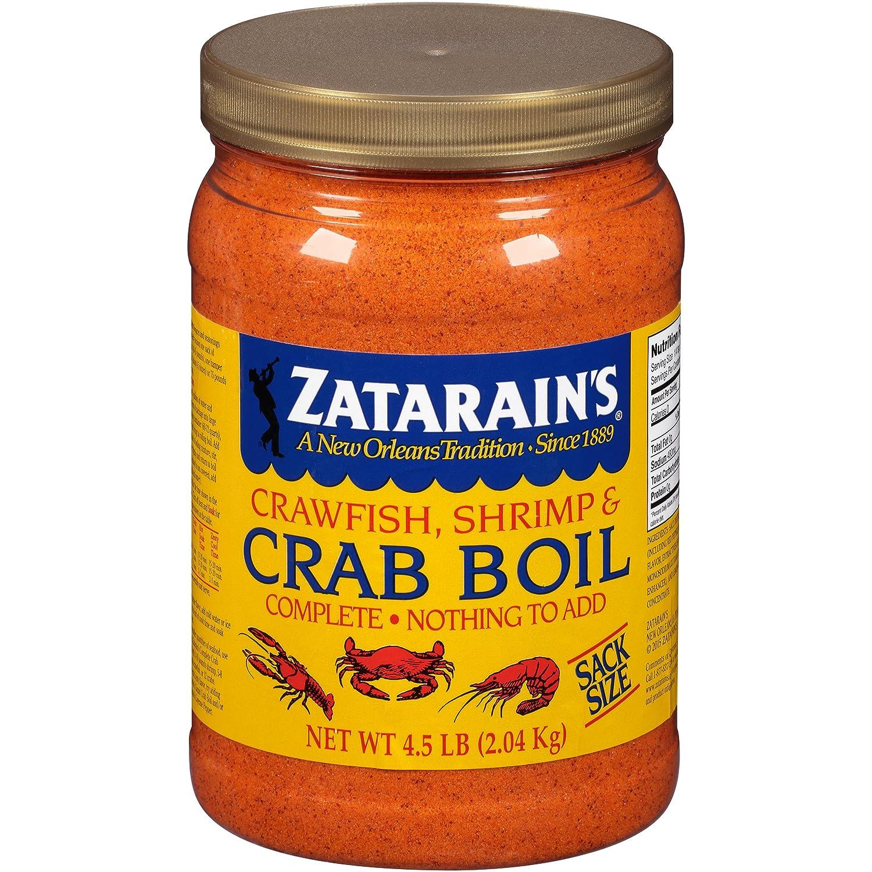 Amazon Com Zatarains Pre Seasoned Crab And Shrimp Boil 72 Ounce