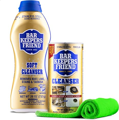 Bar Keepers Friend Cleaner Kit