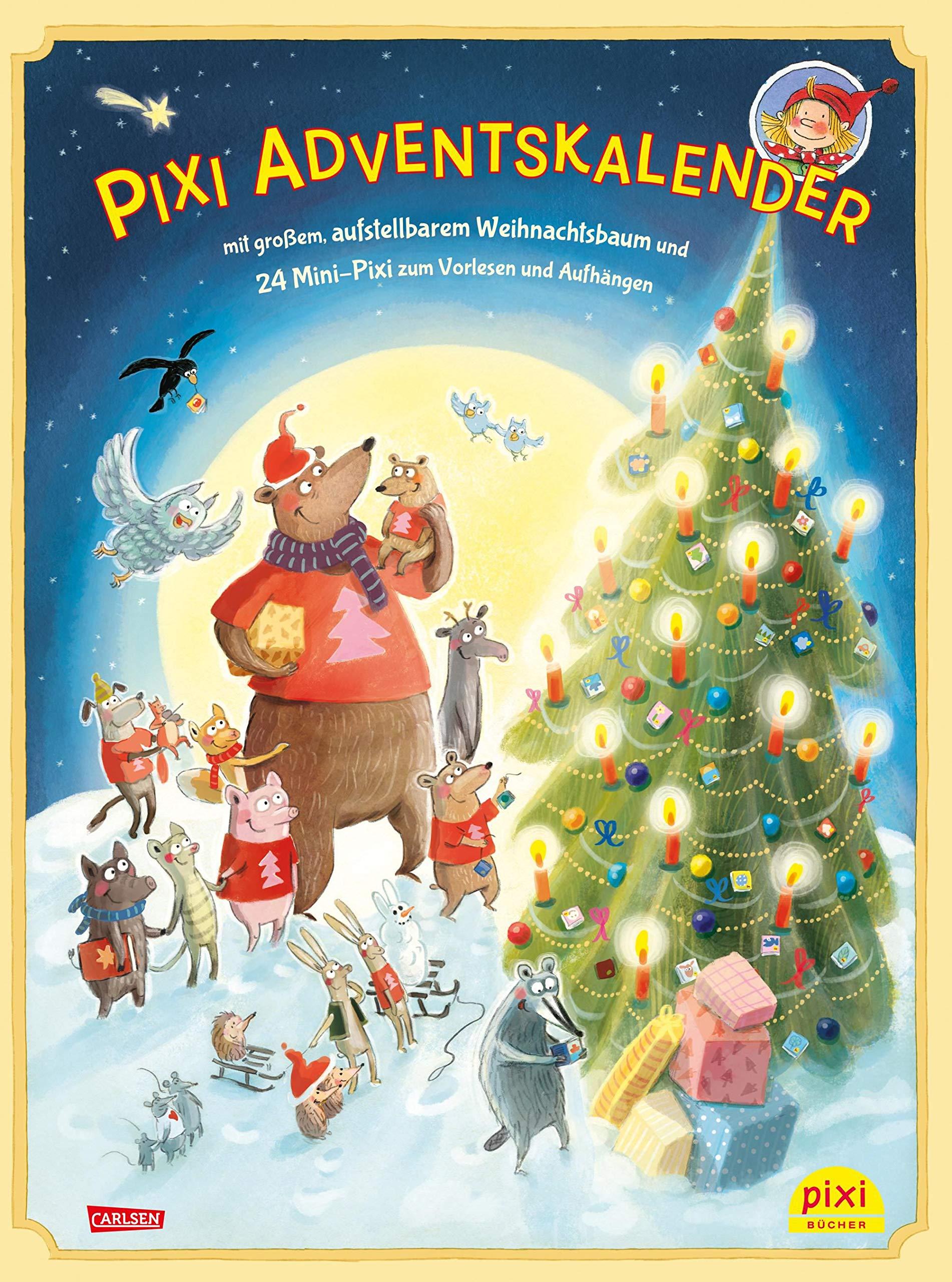 Pixi Adventskalender mit Weihnachtsbaum 2018: mit großem, aufstellbarem Weihnachtsbaum und 24 Mini-Pixi zum Vorlesen und Aufhängen Kalender – 31. August 2018 diverse Astrid Henn Andrea Pöter Markus Zöller