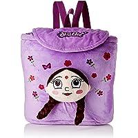 Chhota Bheem Chutki 3D Face Plush Bag - Purple